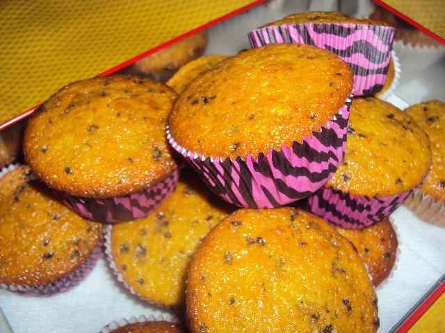 Ricetta: Muffin allo yogurt con scaglie di cioccolato
