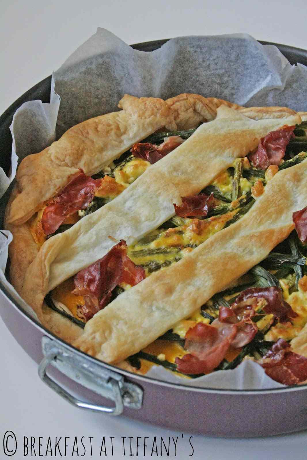 Ricetta: Torta salata con asparagi / asparagus salty cake