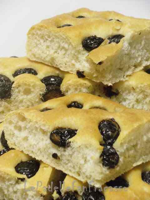 Ricetta: Focaccia con olive
