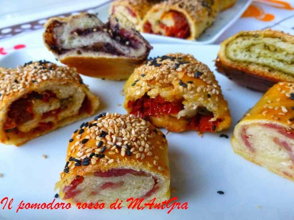 Ricetta: Rotolini di pane farciti