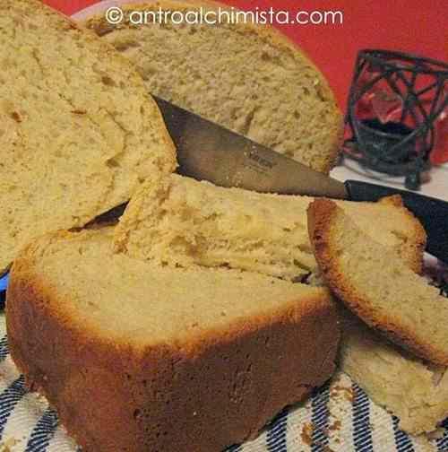 Ricetta: Pane tipo Sandwich con la Macchina del Pane