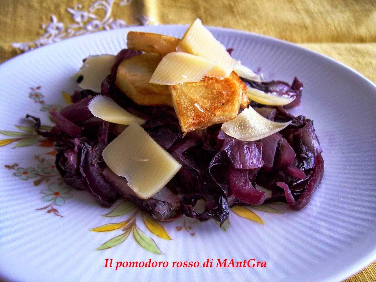 Ricetta: Radicchio e patate