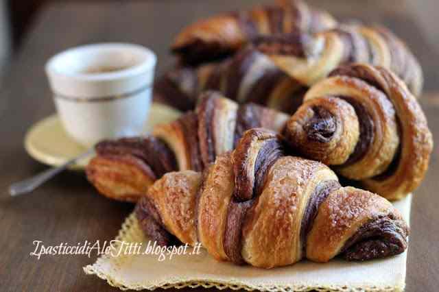 Ricetta: Croissant sfogliati bicolore