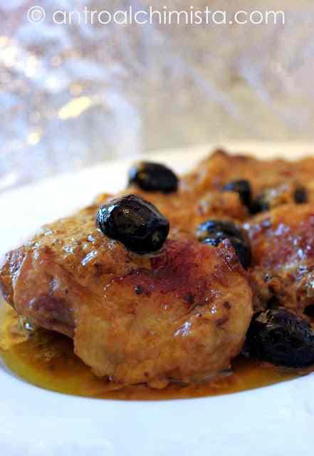 Ricetta: Pollo alla Vernaccia e Zafferano