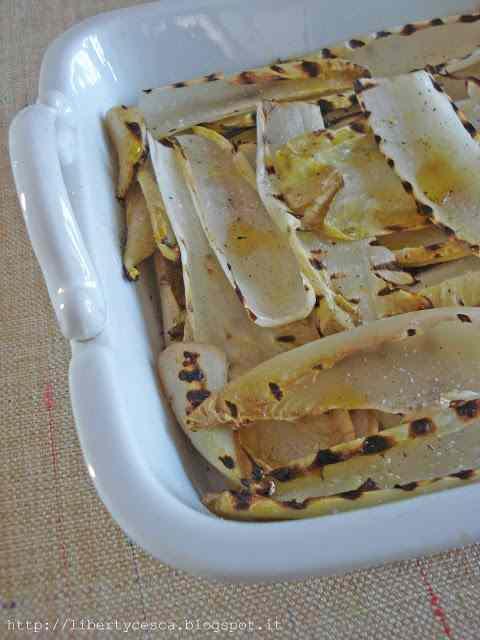 Ricetta: Indivia belga grigliata / grilled belgian endive
