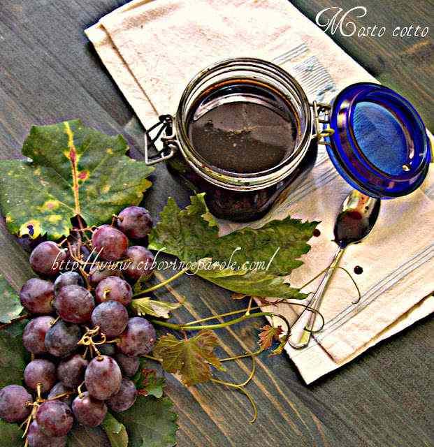 Ricetta: Mosto cotto d'uva
