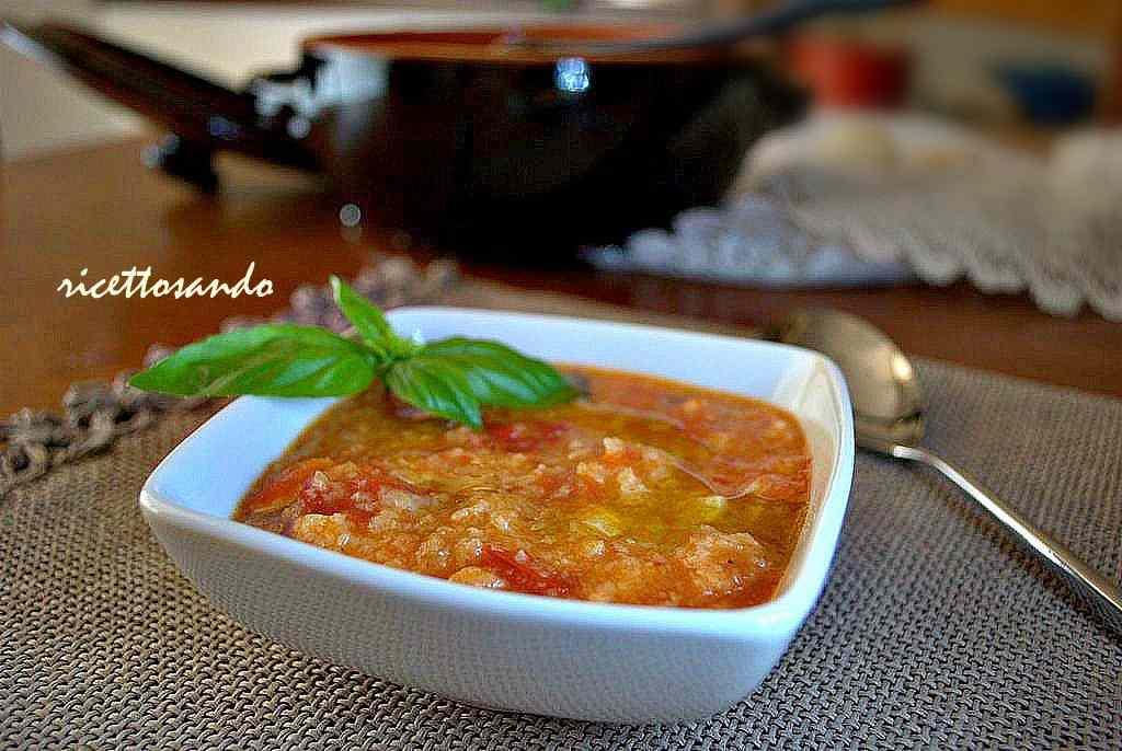 Ricetta: Pappa col pomodoro toscana
