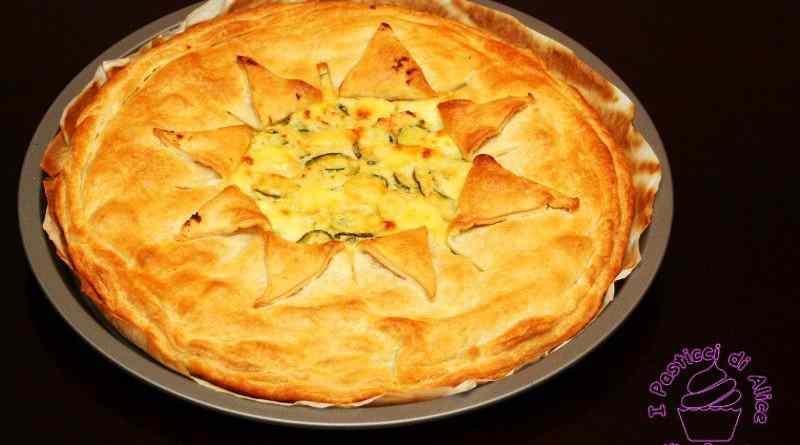 Ricetta: Torta salata zucchine e ricotta