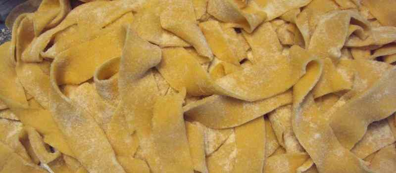 Ricetta: Pappardelle