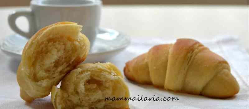 Ricetta: Cornetti con esubero di pasta madre