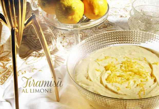 Ricetta: Tiramisu al limone