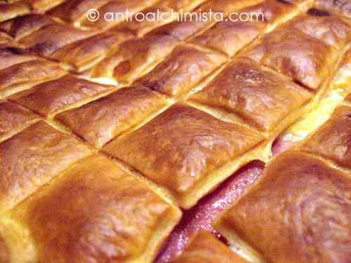 Ricetta: Cubotti di Pasta Sfoglia con Cotto e Fontina