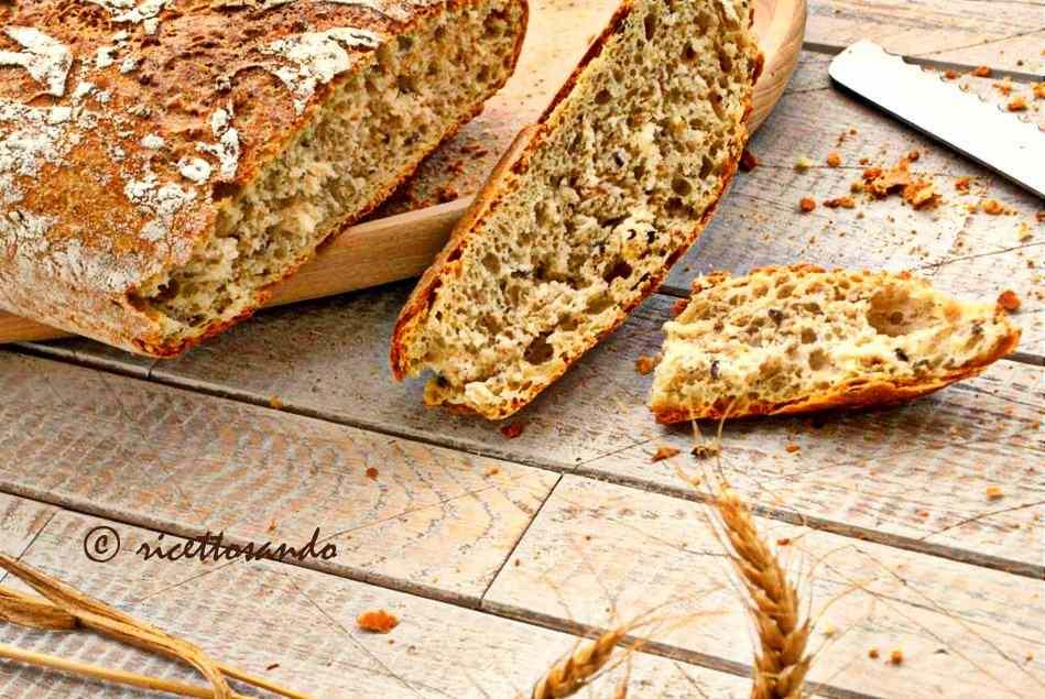 Ricetta: Pane integrale ai semi
