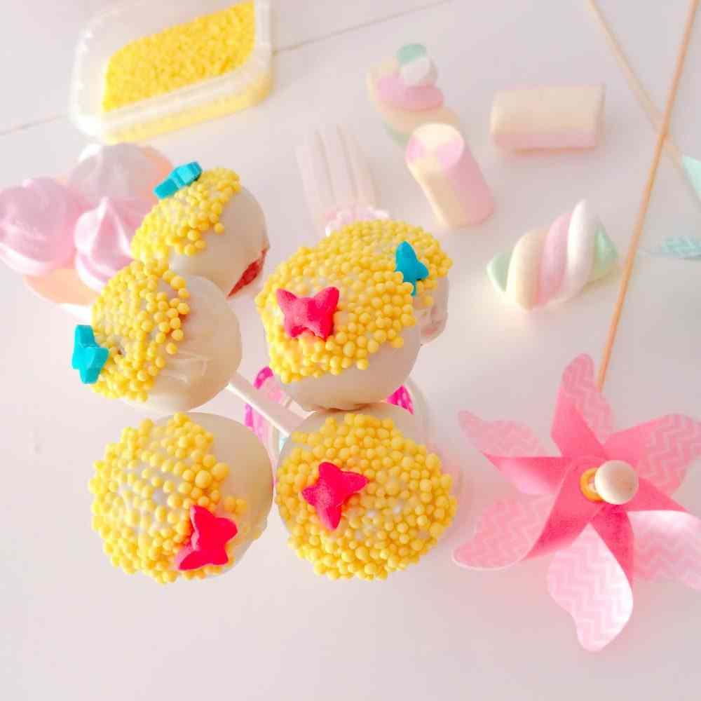 Ricetta: Cakepops floreali