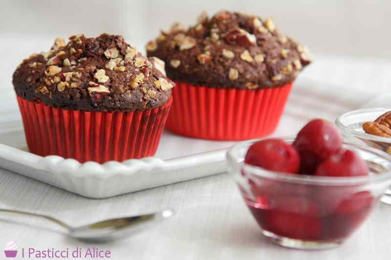 Ricetta: Muffins al Maraschino e Amarene