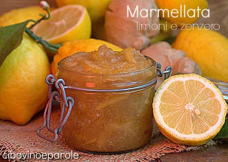 Ricetta: Marmellata di limoni e zenzero