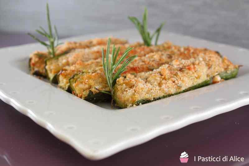 Ricetta: Ripieni di zucchine ceci e orzo