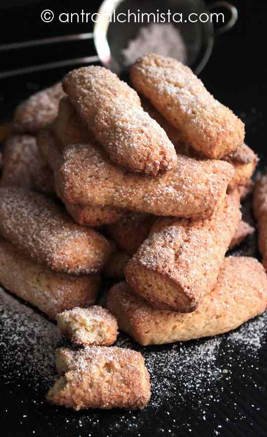 Biscotti di Farina di Kamut con Panna e Miele di Castagno