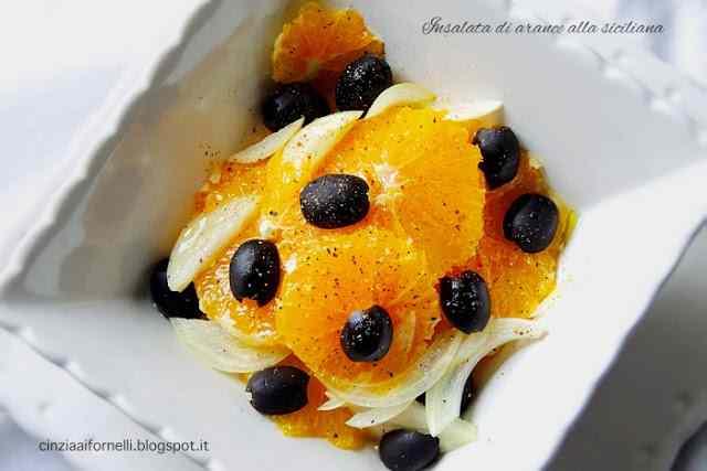 Ricetta: Insalata di arance alla siciliana