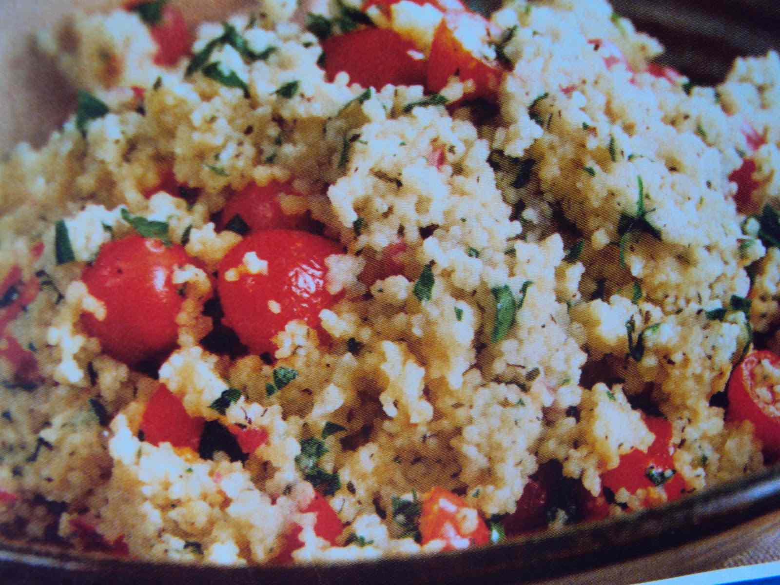 Ricetta: Cuscus ai pomodorini