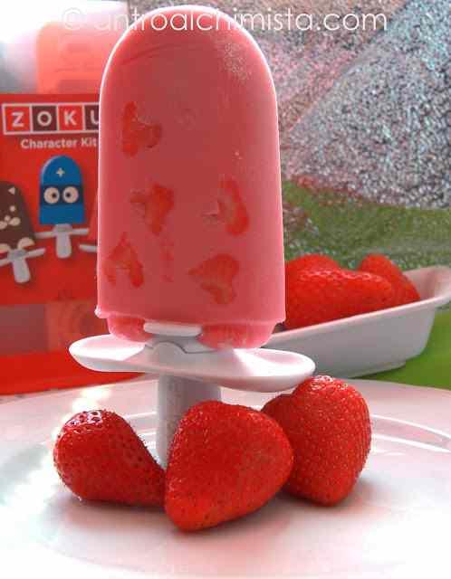 Ricetta: Pops alle Fragole