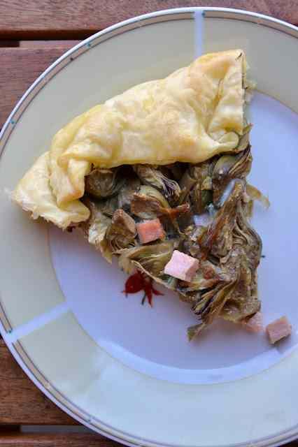 Ricetta: Torta rustica carciofi e prosciutto cotto
