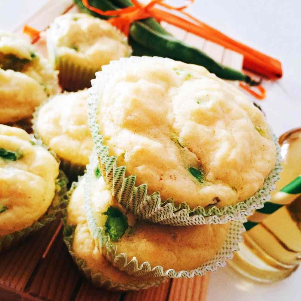 Ricetta: Muffin fave e pecorino