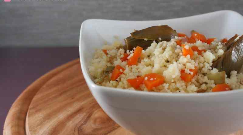 Ricetta: Cous cous carciofi e carote