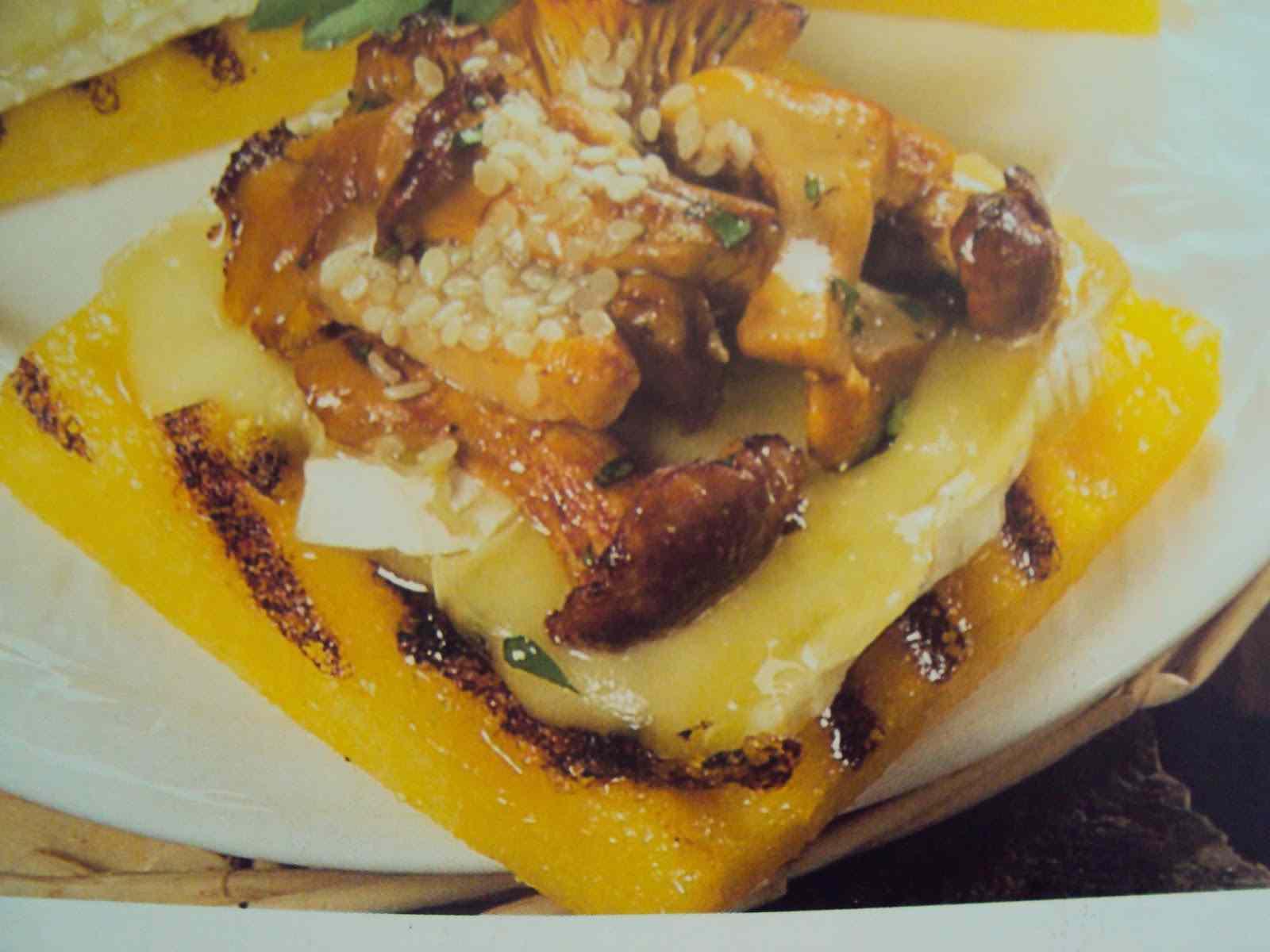 Ricetta: Quadrotti di polenta farciti