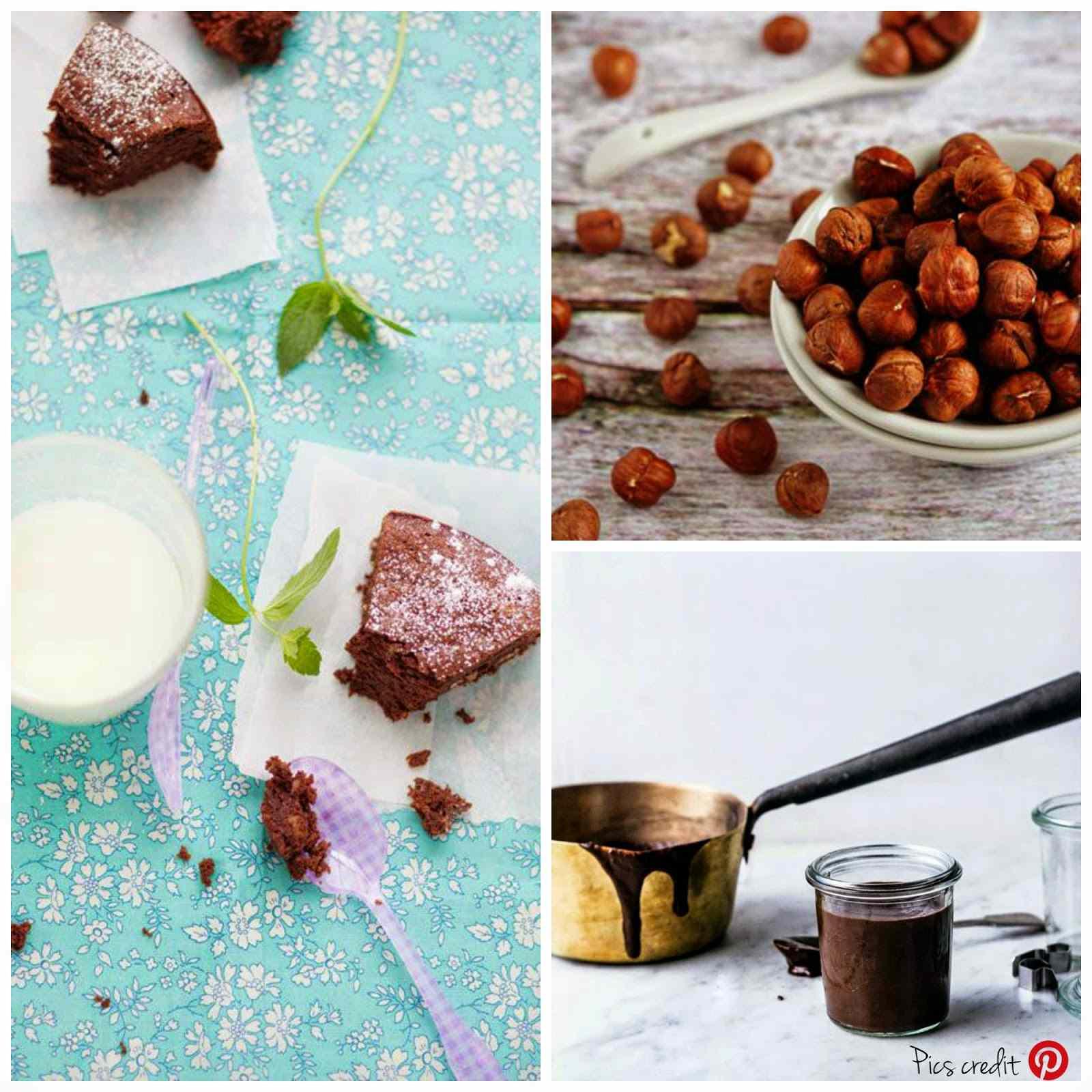 Ricetta: Torta cioccolato e nocciole senza burro / no butter ccocolate and hazelnuts cake