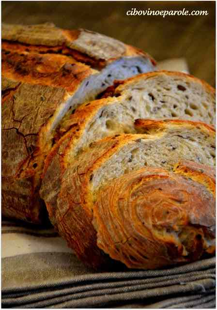 Ricetta: Pane ai semi di lino .....flax seeds bread