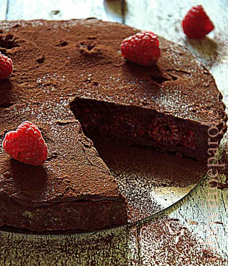 Ricetta: Crostata lamponi e cioccolato