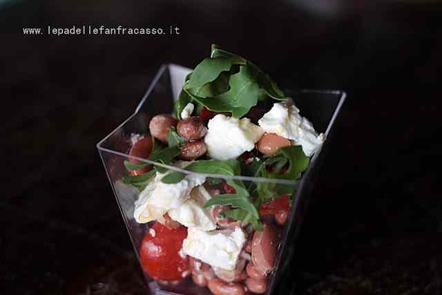 Ricetta: Insalata estiva di fagioli e feta piatti veloci