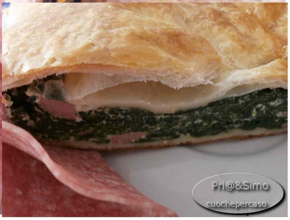 Ricetta: Strudel salato