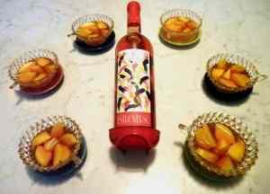 Ricetta: Peschenoci al vino rose