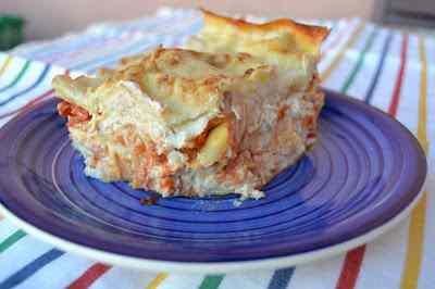 Ricetta: Lasagne tonno e mascarpone e....pomodoro....