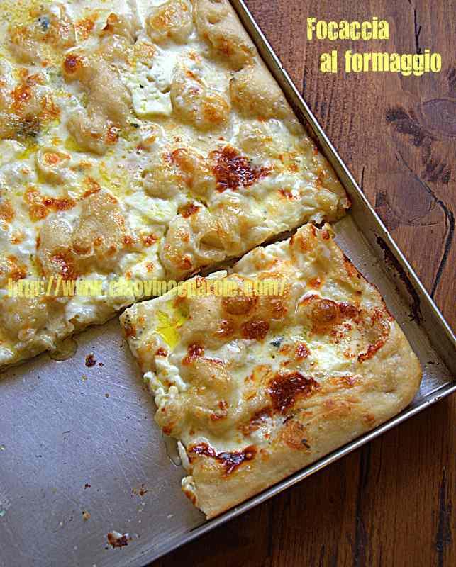 Ricetta: Focaccia al formaggio