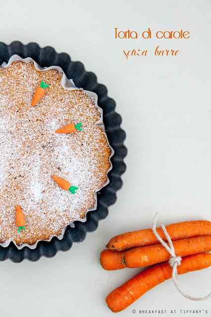 Ricetta: Torta di carote senza burro / no butter carrot cake recipe