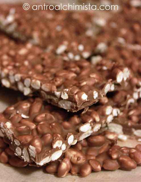 Ricetta: Barrette di Cioccolato con Riso Soffiato