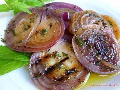 Ricetta: Cipolle rosse di tropea grigliate