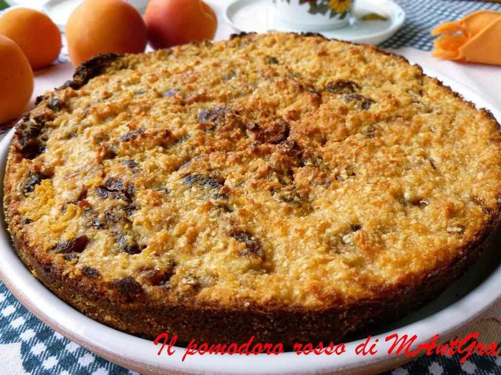 Ricetta: Torta di pane, albicocche e cocco