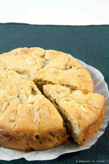 Ricetta: Torta soffice integrale alle pere con pinoli / wholewheat pear  pine nuts cake recipe