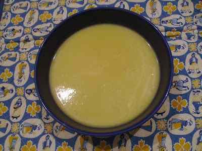 Ricetta: Zuppa di cavolfiore e zafferano