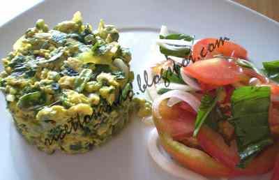 Ricetta: Sformatino di verdure e uova