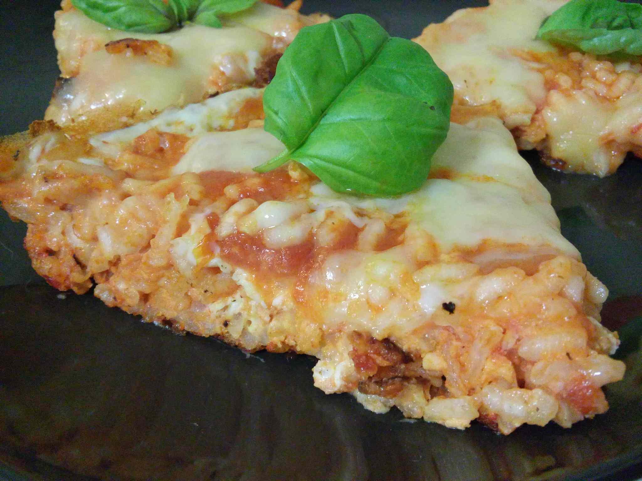 Ricetta: Frittata di riso al pomodoro, basilico e formaggio