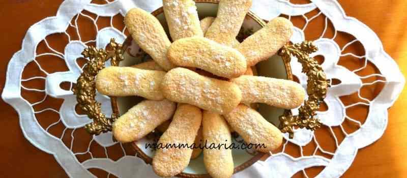 Ricetta: Biscotti savoiardi