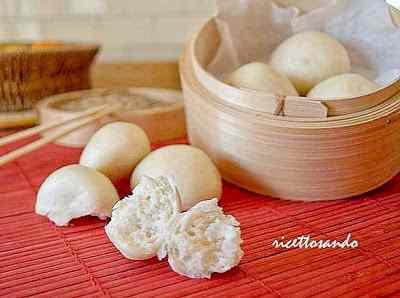 Ricetta: Mantou Pane cinese  a vapore con lievito madre