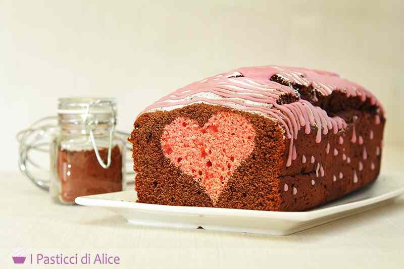 Ricetta: Plumcake al Cioccolato col Cuore