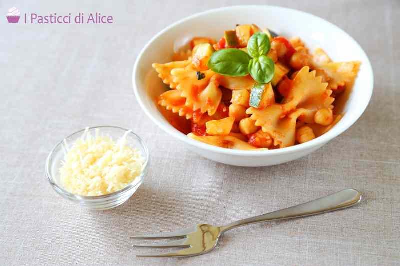 Ricetta: Pasta Zucchine e Ceci