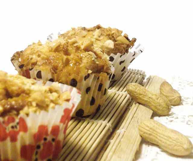 Ricetta: Un muffin per amico con arachidi e mou